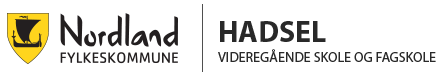 Hadsel videregående skole - nybygg Logo